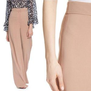 Tracy Reese High Waist Stretch Crepe Palazzo Pants